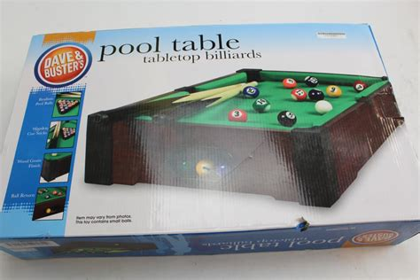dave and busters pool table dave buster s pool table tabletop billards property room