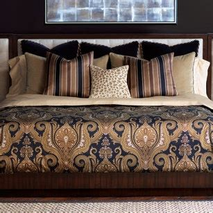navy and gold bedding pin by j brulee home on beds bedrooms bedding pinterest