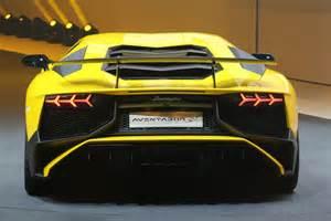 Lamborghini Aventador Hp 740 Hp Lamborghini Aventador Superveloce Revealed In Geneva