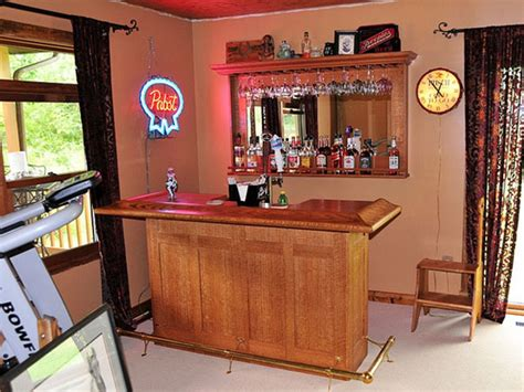 Easy Basement Bar Ideas Simple Bar 31 Hassle Free Home Bar Ideas Family Room Pinterest Bar Cave And Basements