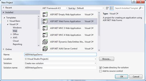 Deploy A Traditional Asp Net Application To Elastic Beanstalk Aws Toolkit For Visual Studio