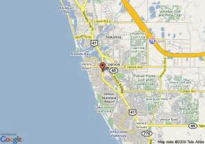 map venice florida area map of island inn of venice venice