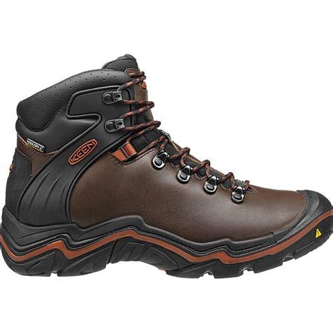 mens hiking boots sale uk keen mens liberty ridge bison gingerbread waterproof