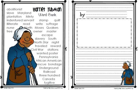 harriet tubman elementary biography modal title