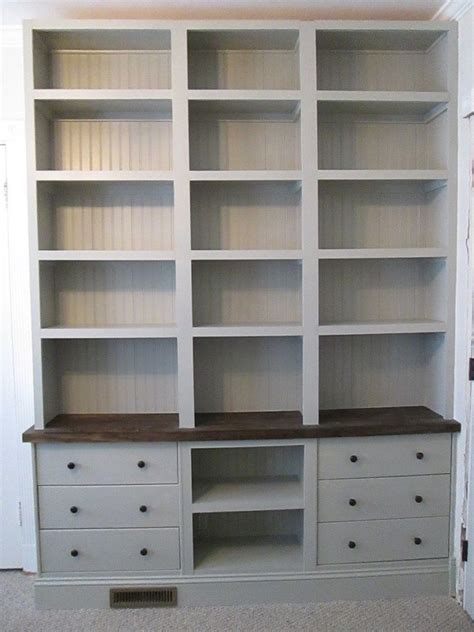 ikea bookshelf closet hack can you believe it s ikea built in bookshelves with rast