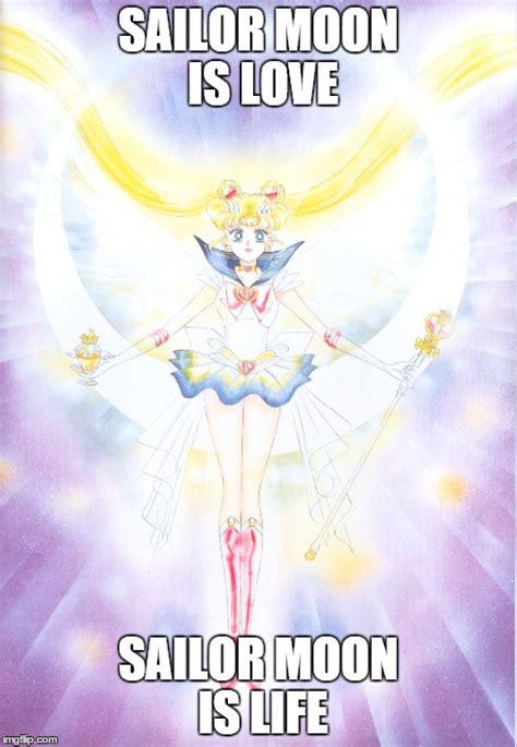 Sailor Moon Meme - sailor moon is love imgflip