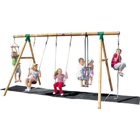 wooden slide and swing set uk 1000 ideas about wooden garden swing on pinterest