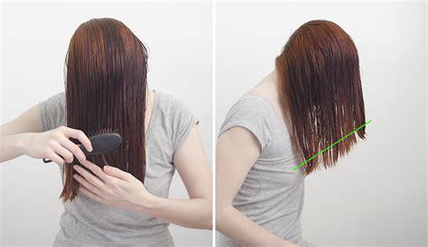 como cortarse el pelo uno mismo a capas diy c 243 mo cortar el pelo a capas t 250 misma handbox craft