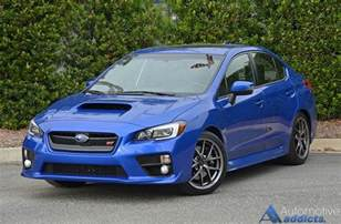 Wrx Sti Subaru 2016 Subaru Wrx Sti Limited Review Test Drive