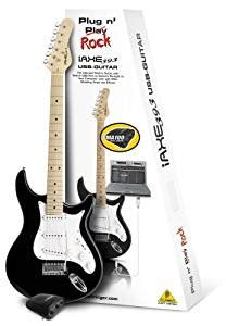 Shiny Review Iaxe Usb Guitar by Behringer Iaxe393 Usb Guitar Package Black