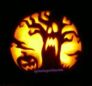 evil pumpkin template pumpkin carving spinning webbs