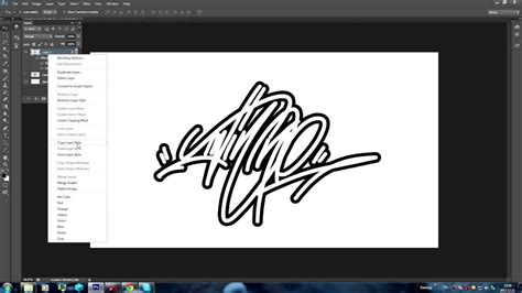 tutorial graffiti youtube graffiti tag logo photoshop tutorial youtube