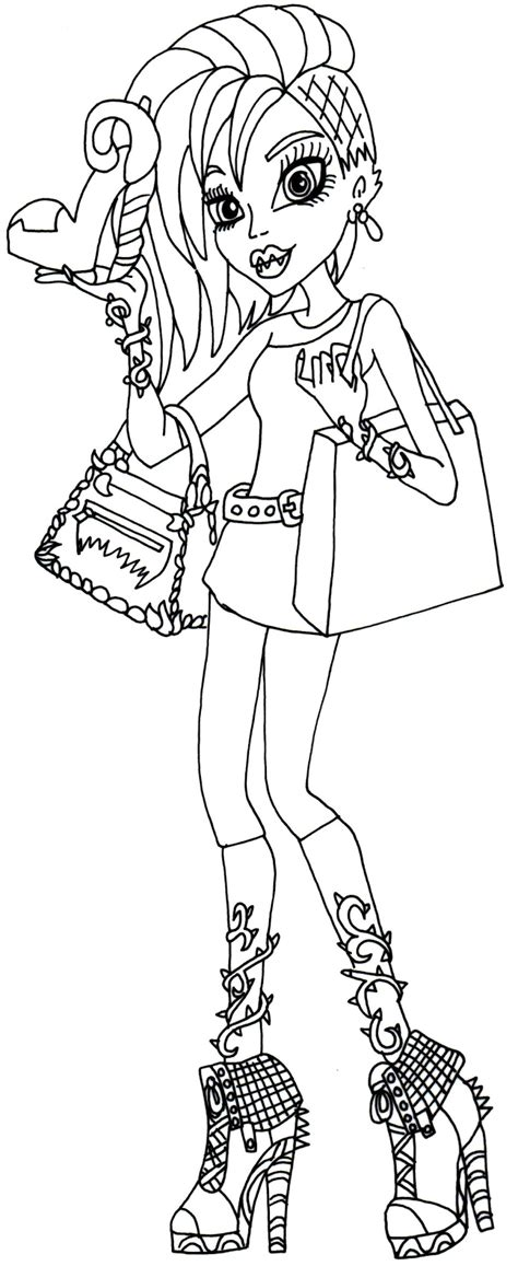 coloring pages free monster high free printable monster high coloring pages april 2014