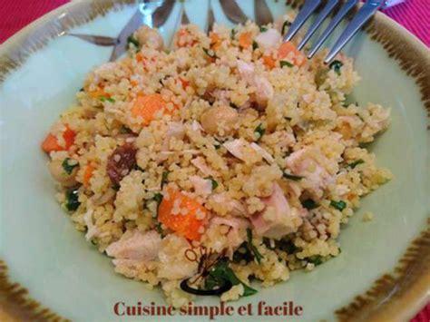 recette de cuisine simple et facile recettes de salade de semoule de cuisine simple et facile
