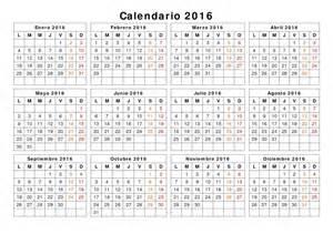 Calendario Giorni Lavorativi 2018 Calendario Calendario 2016 Con Giorni Festivi E Ponti