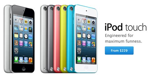 ipod color apple announces new space gray color for ipod touch