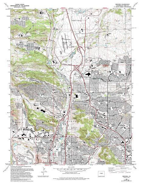 usgs maps pikeview topographic map co usgs topo 38104h7