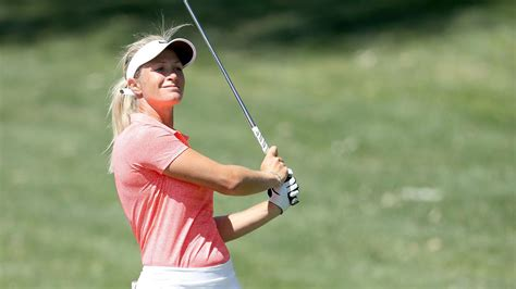 suzann pettersen swing pettersen s goal for sunday at ana to get wet