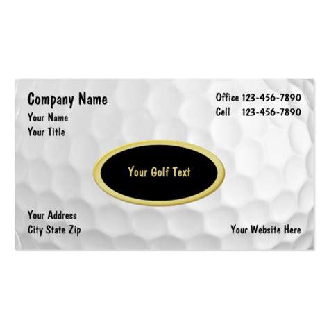 golf business card templates free golf business card templates bizcardstudio