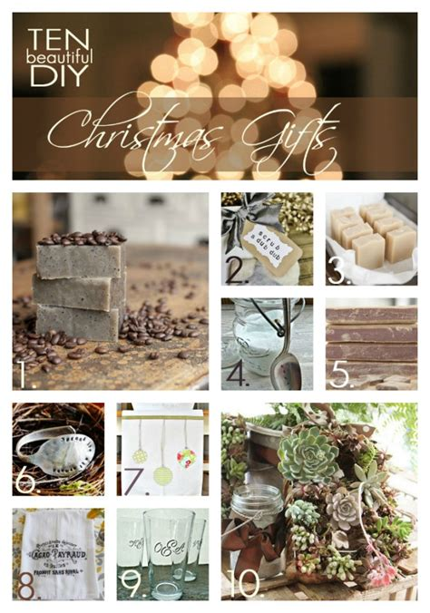 a handmade christmas 10 diy christmas gifts you can make