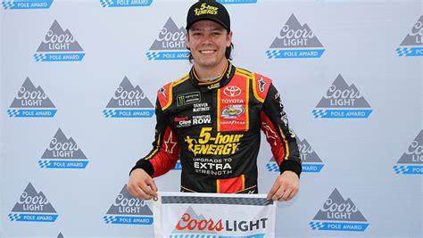 coors light pole qualifying bristol coors light qualifying results erik jones earns