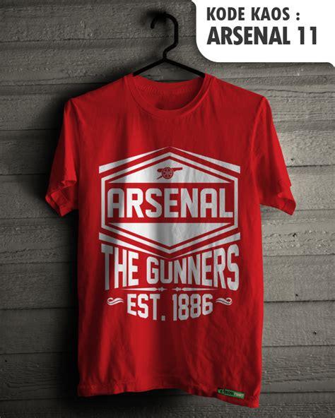 Arsenal 12 Kaos Arsenal Kaos Bola Kaos Pria Kaos Distro Jual Arsenal Fans Baju Sepakbola Kaos Distro Klub Tim