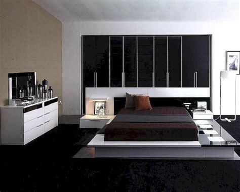 Modern White Bedroom Set by Modern White Black Finish Bedroom Set Made In Italy 44b3511