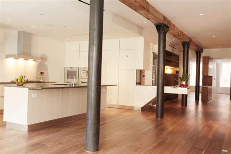 modern columns support beams as decorative columns kitchen traditional