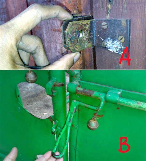 Kunci Pipa Besar kolom hsgautama mengakali kunci pagar depan rumah supaya