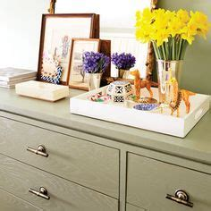 Dresser Top Decorating Ideas by Dresser Top Decor On Dresser Top Turquoise