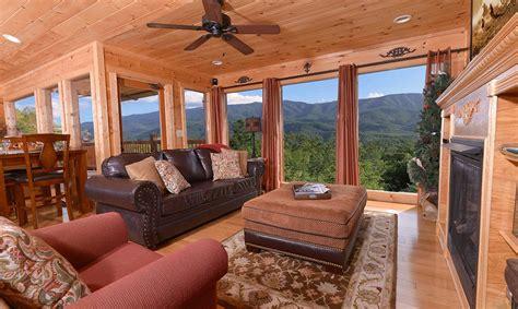 smoky mountain cabin rental gatlinburg cabin rentals a luxury view
