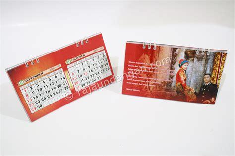 Custom Undangan Model 88157 undangan pernikahan islami unik model kalender meja dan notes