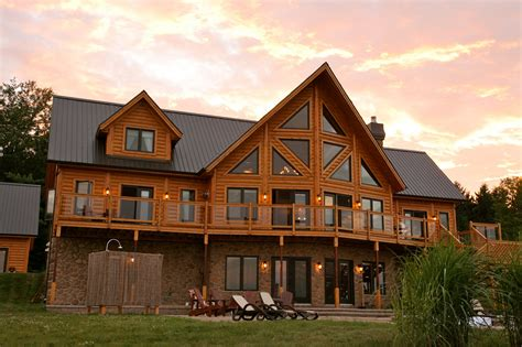 the charm and benefits of a wood home timber block