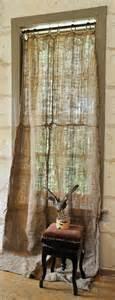 burlap outdoor curtains burlap curtain for the home pinterest burlap