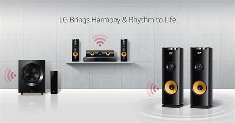 lg home audio single multi speaker systems lg usa