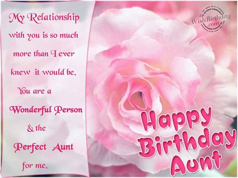 Quotes For Aunts Birthday Happy Birthday To My Aunt Quotes Quotesgram