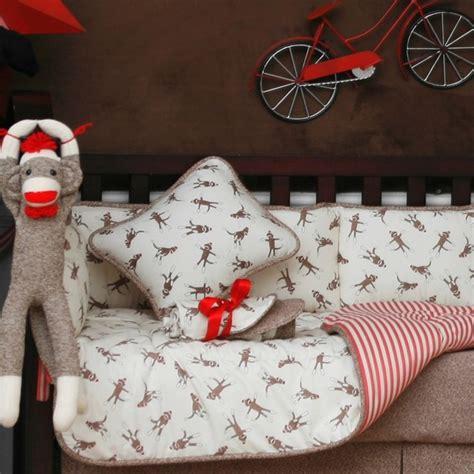 Sock Monkey Decorative Pillow Traditional Nursery Sock Monkey Nursery Decor