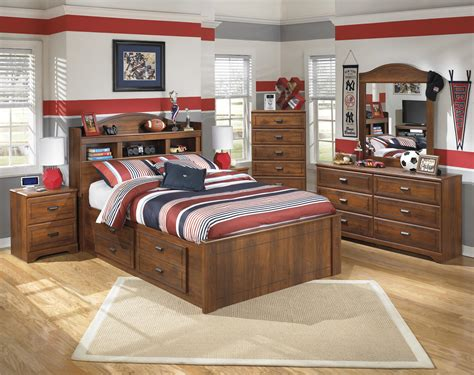barchan bookcase bed with storage signature design by barchan bookcase bed with