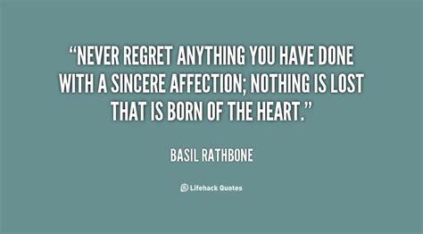 Regret Quotes Quotes About Regret Quotesgram