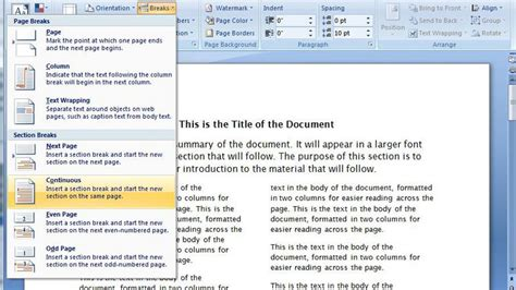 word layout two columns how to make a newspaper template on microsoft word 2003