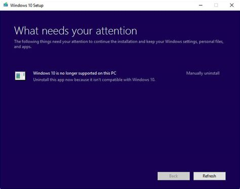 unable to install windows 10 technical preview 64 bit microsoft cuts off windows 10 support early for some pcs