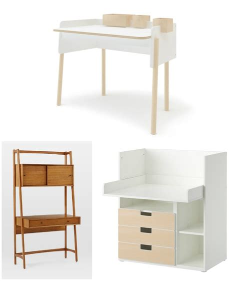 9 Modern Kids Desks For Small Spaces Cool Mom Picks Small Child S Desk