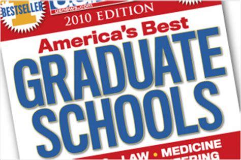 Us News And World Report Mba Rankings 2010 by Free Grad Program Rankings Novoblogs