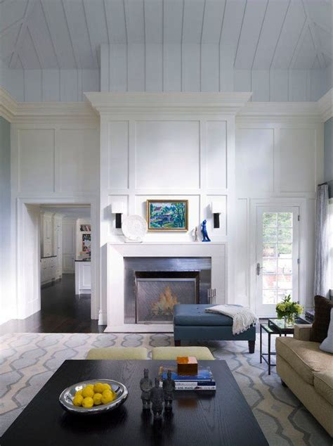 wood panel fireplace fireplaces ceilings and the fireplace on