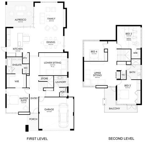 8 gimnasios en casa pisos dise 241 o de casa moderna de dos pisos fachada e interiores