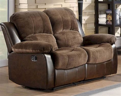 loveseat glider recliner double glider reclining loveseat cranley by homelegance el
