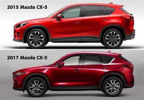 2015 mazda cx5 vergleich 2015 vs 2017 mazda cx 5 autofilou