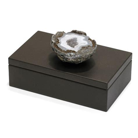 geode box diego cooper prehistoric mineral accessories touch of