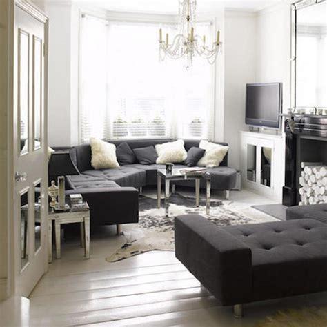 Small Living Room Ideas Grey And Black Jak Stosowac Kolor We Wnetrzu Aranzacje W Szarosci Szary