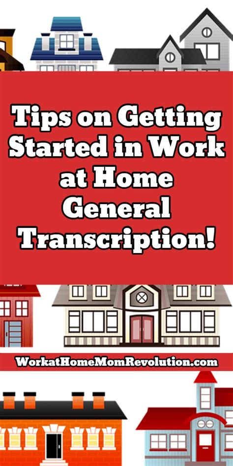 work at home transcription tips on getting started